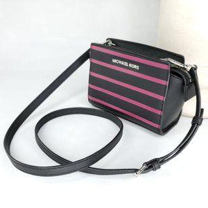 MICHAEL KORS Selma - Mini Leather Crossbody Bag